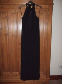 Black Full Length Evening Dress - Principles - Brand New - Never Worn = Tag Still Attached