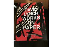 David Lynch Works On Paper (limited edition)