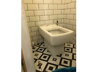 Brand New White Victoria Plumb Toilet (Including Cistern)