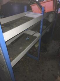 Van racking universal will fit transit,size van. It came out of VW transporter but