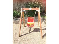 Plum baby swing and sand pit