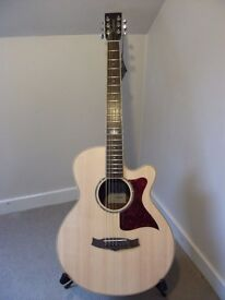 Tanglewood TW145 SS CE Super Folk Electro Acoustic Guitar.