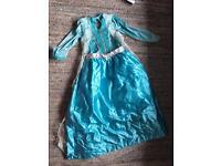Frozen Elsa dress size 9-10 yrs