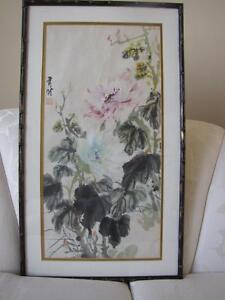 Peinture de fleurs provenant de la chine Flower art from China