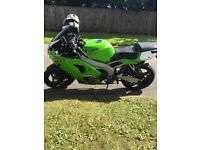 Zx6r sell/swap road legal 250/450