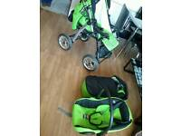 Baby merc 3 in 1 junior travel system - EXCELLENT AS NEW CONDITION!