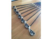 Callaway x22 golf clubs. Graphite stiff shafts