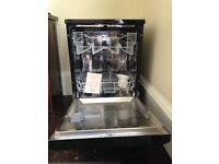 Electra Freestanding Black Dishwasher, only 6 months old.