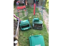 Qualcast punch classic 30 and Concorde 320 lawn mowers