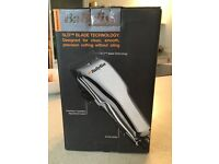 Bayliss Professional Chrome Clipper Set. Includes Accessories (all sealed & unused).