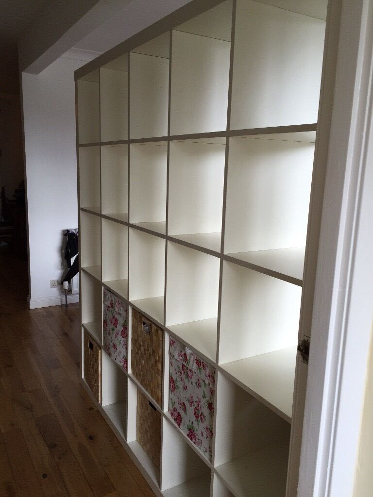 IKEA Kallax bookcase room divider 182 X 182 in Dunblane  : 86 from www.gumtree.com size 768 x 1024 jpeg 90kB