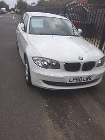 White BMW 1Series
