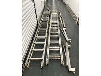 Used Scaffold Staging System 2 x 5m ladders and 5m Youngerman Board