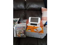 Nintendo 2dsxl as new with games