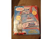 Thomas and friends single duvet set