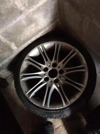 "17"" BMW MV2 alloys"