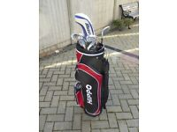 11 Taylormade Lite Golf Clubs (Men's) and Hippo Golf Bag - Used but in good condition