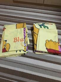 Pair of Winnie the Pooh Single Quilt Cover sets