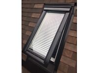 BRAND NEW IN THE BOX - SPECIAL VELUX ROOF WINDOW 78x98 TOP HUNG! TRIPLE GLAZED! BLACK!
