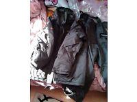 trakker water proof fishing suit