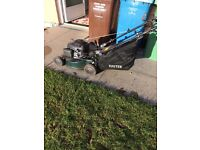 SOLD SOLD , Petrol strimmer & lawnmower