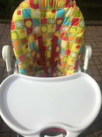 Mothercare foldable high chair