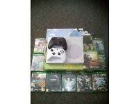 Xbox one s+ 10 games