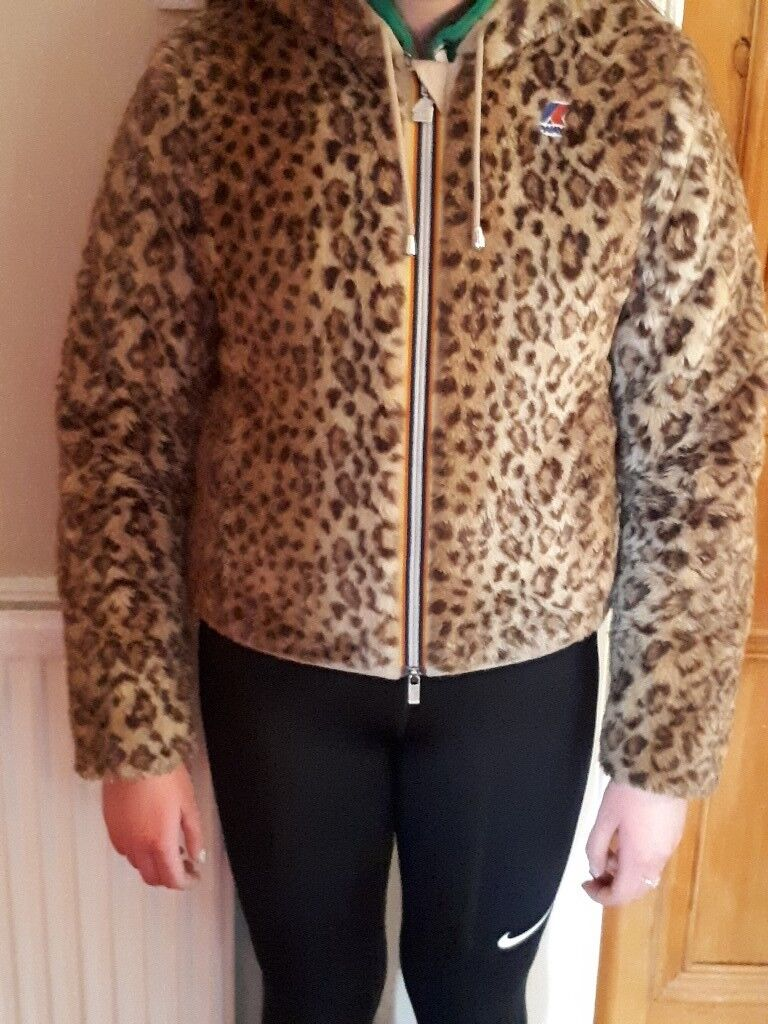cc5d6128b0af K-way Leopard Print Ski Jacket   in Burnside, Glasgow   Gumtree