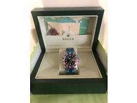 Rolex Oyster Perpetual GMT Master II Pepsi Edition Free Postage