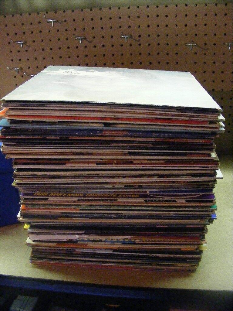 JOB LOT OF VINYL RECORDS ( 99 LPS & 75 SINGLES)