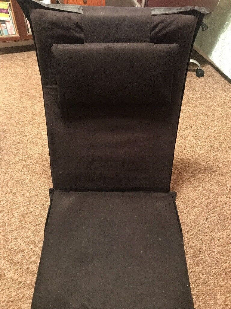 Peachy Folding Floor Chair Bed Adjustable And Very Comfortable In Poole Dorset Gumtree Home Interior And Landscaping Mentranervesignezvosmurscom
