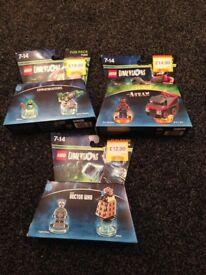 Lego Dimensions x 3 packs