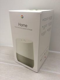 GOOGLE Home - White Brand New in unopened box - SAVE £££s on RRP