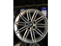 Bmw 120d m sport genuine multi spoke spider alloy wheels 5120 m sport e87 116 118 120 123 alloys