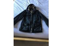 Mens Barbour Shordace Waxed Jacket