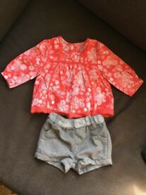 BEAUTIFUL WINTER/XMAS OUTFITS FOR BABY GIRL 3mths, 6mths, 9mths