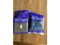 Hamilton Hartland electrical switch and socket