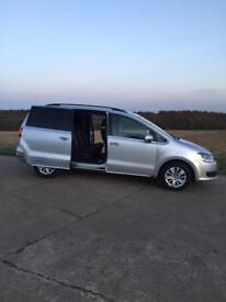 Volkswagen Sharan 2.0 TDI DSG 7 seater not Seat Alhambra Touran Galaxy
