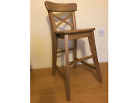 Childs Woodern Table Chair