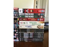 DVD's (60+ individual movies and series)