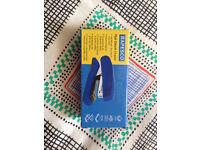 Rapesco Flat Clinch Heavy Duty Half Strip Stapler