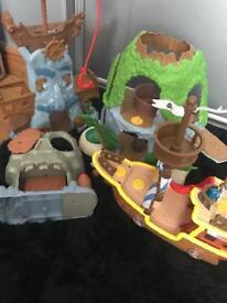 Jake and Netherland pirates set