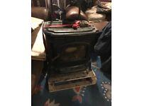 Used Cast Iron Woodburner