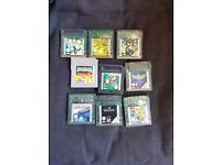 Selection of gameboy and gameboy colour games
