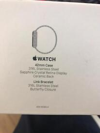 Apple Watch Stainless 42mm (£949 retail)