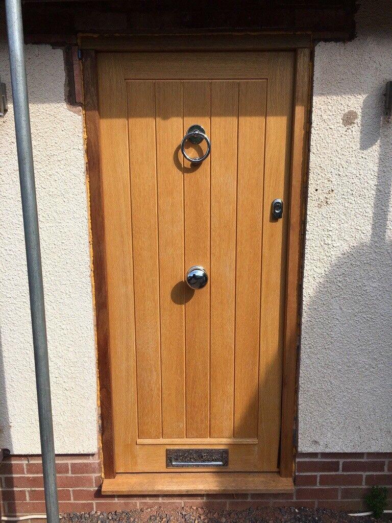 Howdens Engineered Oak Front Door + Hardwood Frame | in Exeter ... on