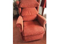 Electric Reclining Chair (reclines to almost flat)