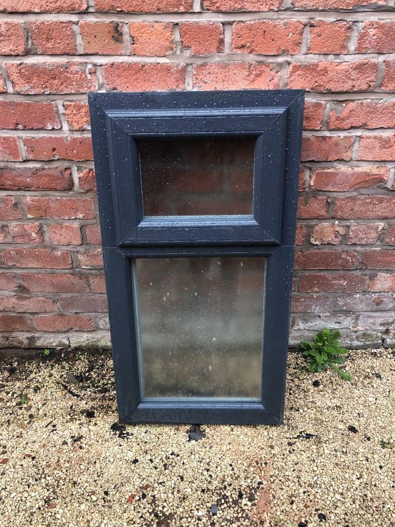 Bathroom window grey upvc brand new 53 x 100cm | in Eccles ...