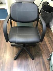 Salon backwash chair and basin