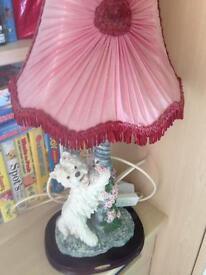 Westie lamp